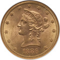 Liberty Eagles: , 1886-S $10 MS63 NGC. NGC Census: (260/14). PCGS Population(271/15). Mintage: 826,000. Numismedia Wsl. Price for problem fr...