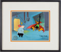 Animation Art:Model Sheet, Daffy Duck and Doctor Hi Limited Edition Cel Animation Art#72/200 Signed by Chuck Jones (Warner Brothers, 1986)....