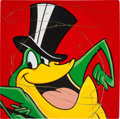 Animation Art:Seriograph, Steve Kaufman Michigan J. Frog Limited Edition Fine ArtPrint on Canvas #1/50 (Warner Bros., 1999). . ... (Total: 2 Items)