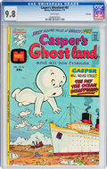 Bronze Age (1970-1979):Cartoon Character, Casper's Ghostland #82 File Copy (Harvey, 1975) CGC NM/MT 9.8 Whitepages....
