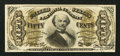 Fractional Currency:Third Issue, Fr. 1326 50¢ Third Issue Spinner Choice New.. ...