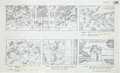 "Original Comic Art:Miscellaneous, Jack Kirby Fantastic Four ""The Olympics of Space"" StoryboardOriginal Art (DePatie-Freleng, 1978)...."