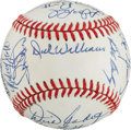 Autographs:Baseballs, Baseball Greats Multi Signed Baseball. ...