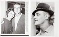 Baseball Collectibles:Photos, 1961 Roger Maris Wire Photographs Lot Of 2....