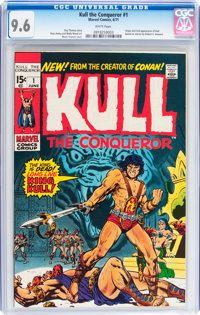 Kull the Conqueror #1 (Marvel, 1971) CGC NM+ 9.6 White pages