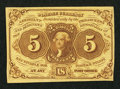 Fractional Currency:First Issue, Fr. 1230 5¢ First Issue Choice New.. ...