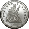 Seated Quarters, 1877 25C MS67 NGC....