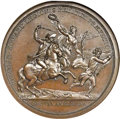 Betts Medals, (1845-1860) Lt. Col. John Eager Howard at Cowpens MS64 Brown NGC.Betts-595....