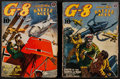 "Movie Posters:War, G-8 and His Battle Aces (Popular Publication, 1941). Magazines (2)(112 Pages, 9.25"" X 6.75""). War.. ... (Total: 2 Items)"