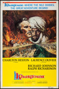 "Movie Posters:Adventure, Khartoum (United Artists, 1966). Poster (40"" X 60""). Adventure....."