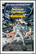 "Movie Posters:James Bond, Moonraker (United Artists, 1979). One Sheet (27"" X 41""). James Bond.. ..."