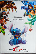 "Movie Posters:Animation, Lilo & Stitch (Buena Vista, 2002). Lenticular One Sheet (27"" X40"") Advance. Animation.. ..."