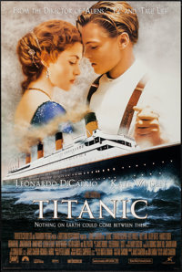 """Titanic and Other Lot (20th Century Fox, 1997). International One Sheet and One Sheet (26.75"""" X 39.75"""" &am..."""