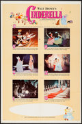 "Movie Posters:Animation, Cinderella (Buena Vista, R-1965). One Sheet (27"" X 41"") Style B. Animation.. ..."
