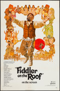 "Movie Posters:Musical, Fiddler on the Roof and Other Lot (United Artists, 1972). One Sheets (2) (27"" X 41""). Musical.. ... (Total: 2 Items)"