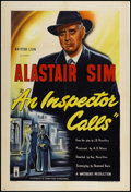 "Movie Posters:Crime, An Inspector Calls (London Film, 1954). British One Sheet (27"" X 40""). Crime.. ..."