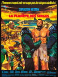 """Movie Posters:Science Fiction, Planet of the Apes (20th Century Fox, 1968). French Grande (46"""" X61""""). Science Fiction.. ..."""