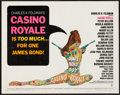 "Movie Posters:James Bond, Casino Royale (Columbia, 1967). Half Sheet (22"" X 28""). JamesBond.. ..."