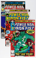 Modern Age (1980-Present):Superhero, Power Man and Iron Fist #50-124 Complete Run Group (Marvel,1978-86) Condition: Average VF/NM.... (Total: 75 Comic Books)