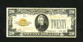 Small Size:Gold Certificates, Fr. 2402 $20 1928 Gold Certificate. Fine+.. No edge tears or pinholes are found on this $20 Gold....
