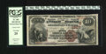 National Bank Notes:Kentucky, Harrodsburg, KY - $10 1882 Brown Back Fr. 484 The First NB Ch. #(S)1807. This Mercer County bank is one of three in Har...