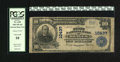 National Bank Notes:Oklahoma, Braggs, OK - $10 1902 Plain Back Fr. 630 The First NB Ch. # 10437. This institution was the only issuing bank located i...