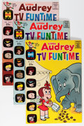 Bronze Age (1970-1979):Humor, Little Audrey TV Funtime #22-33 File Copies Group (Harvey, 1969-71)Condition: Average NM-.... (Total: 36 Comic Books)