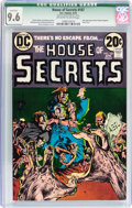 Bronze Age (1970-1979):Horror, House of Secrets #107 (DC, 1973) CGC Qualified NM+ 9.6 Off-white towhite pages....