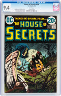 Bronze Age (1970-1979):Horror, House of Secrets #106 (DC, 1973) CGC NM 9.4 White pages....