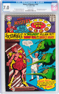 Silver Age (1956-1969):Superhero, House of Mystery #163 (DC, 1966) CGC FN/VF 7.0 Off-white pages....