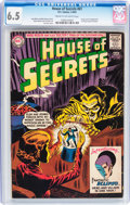 Silver Age (1956-1969):Horror, House of Secrets #61 (DC, 1963) CGC FN+ 6.5 Cream to off-white pages....