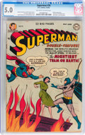 Golden Age (1938-1955):Superhero, Superman #76 (DC, 1952) CGC VG/FN 5.0 Off-white to white pages....