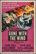 "Movie Posters:Academy Award Winners, Gone with the Wind (MGM, R-1954). One Sheet (27"" X 41""). AcademyAward Winners.. ..."