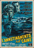 "Movie Posters:War, The Caine Mutiny (Columbia, 1954). Italian 4 - Foglio (54.5"" X77.75""). War.. ..."