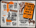 "Movie Posters:Western, Trigger, Jr. & Other Lot (Republic, 1950). Pressbooks (2) (Multiple Pages, 12"" X 18""). Western.. ... (Total: 2 Items)"