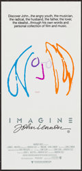 "Movie Posters:Rock and Roll, Imagine: John Lennon (Warner Brothers, 1988). Australian Daybill(13"" X 30""). Rock and Roll.. ..."