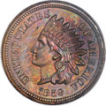 1859 DT1C Indian Cent, Judd-230, Pollock-274, High R.7 -- Questionable Color -- PCGS Proof Genuine. Unc. Details....(PCG...