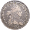 Early Dollars, 1803 $1 Small 3 VF35 PCGS. CAC. B-4, BB-254, R.3....