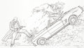 Original Comic Art:Illustrations, Geof Darrow Carl Seltz Hard Boiled GunmanIllustration Original Art (undated)....