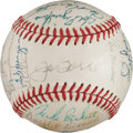 Baseball Collectibles:Balls, 1978 New York Mets Team Signed Baseball (31 Signatures)....