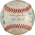 Baseball Collectibles:Balls, 1977 New York Mets Team Signed Baseball (32 Signatures)....