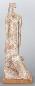 Post-War & Contemporary:Contemporary, UNKNOWN ARTIST (20th Century). Mindy Lee, 1975. Paintedplaster cast. 25-3/4 x 9-1/2 x 10-1/2 inches (65.4 x 24.1 x 26.7...