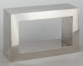 Post-War & Contemporary:Contemporary, JAMES PRESTINI (American, 1908-1993). Untitled, circa 1970.Nickel-plated steel. 12 x 18 x 6 inches (30.5 x 45.7 x 15.2 ...