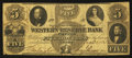 Obsoletes By State:Ohio, Warren, OH- Western Reserve Bank $5 Counterfeit Aug. 12, 1863. ...