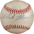 Autographs:Baseballs, 1963 Roberto Clemente Single Signed Baseball....