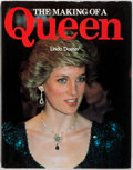 Books:Biography & Memoir, Linda Doeser. The Making of a Queen. New York: GalleryBooks, 1991. First edition. Quarto. 112 pages. Photo illustra...