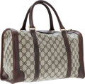Luxury Accessories:Accessories, Gucci Beige Classic Monogram Canvas Small Duffle Bag. ...