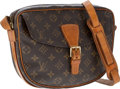 Luxury Accessories:Accessories, Louis Vuitton Classic Monogram Canvas Jeune Fille Shoulder Bag ....