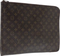 Luxury Accessories:Accessories, Louis Vuitton Classic Monogram Canvas Portfolio . ...