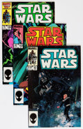 Modern Age (1980-Present):Science Fiction, Star Wars Group (Marvel, 1978-86) Condition: Average VF/NM exceptas noted.... (Total: 106 Comic Books)